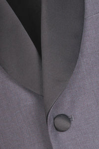 """Bradford"" Kids Steel Grey Tuxedo Jacket (Separates)"