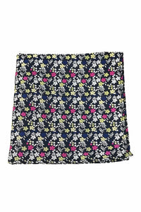 Navy Enchantment Pocket Square