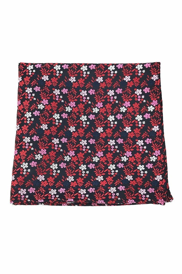 Red Enchantment Pocket Square