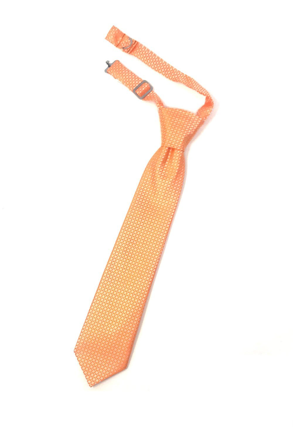 Orange Regal Kids Necktie