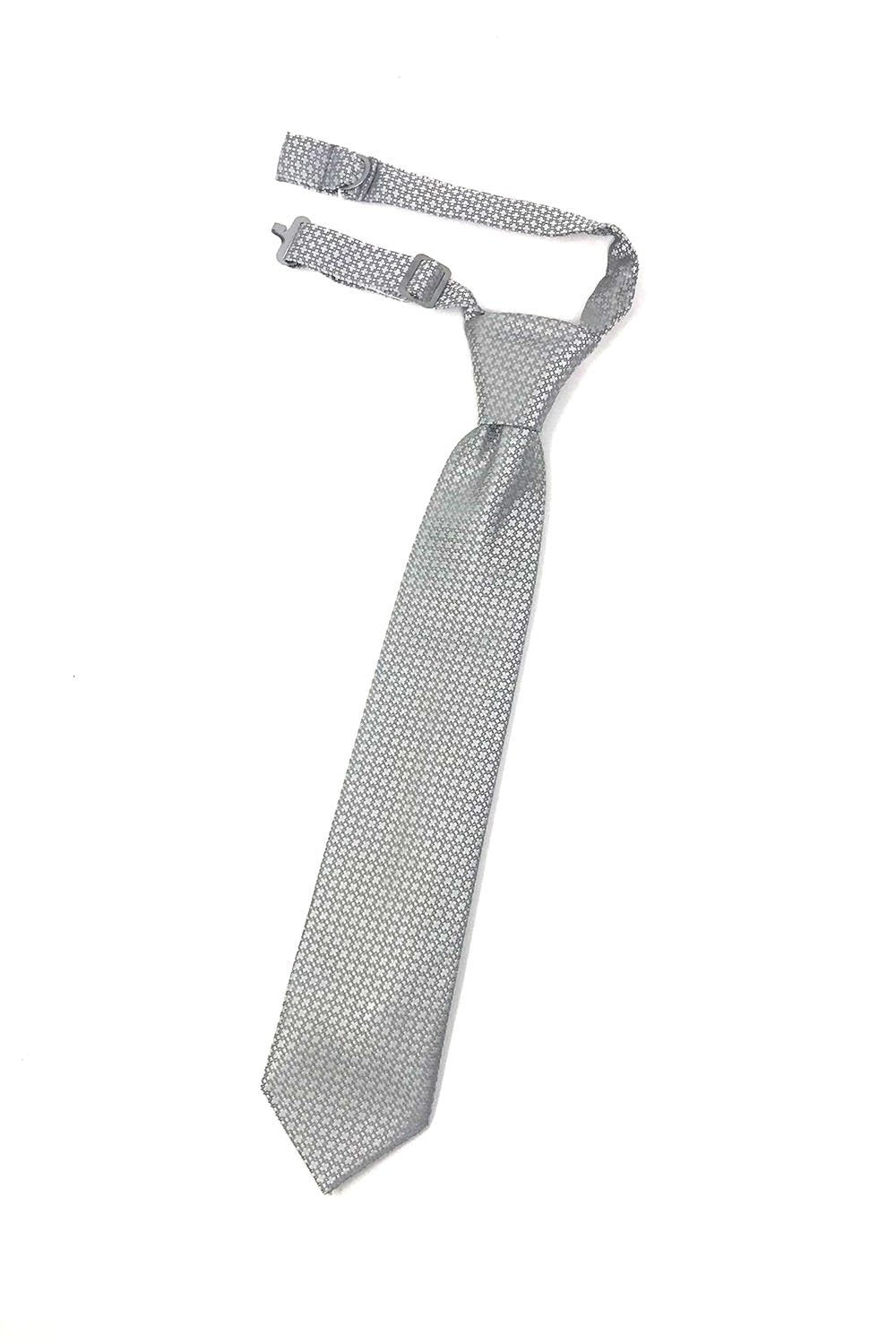 Grey Regal Kids Necktie