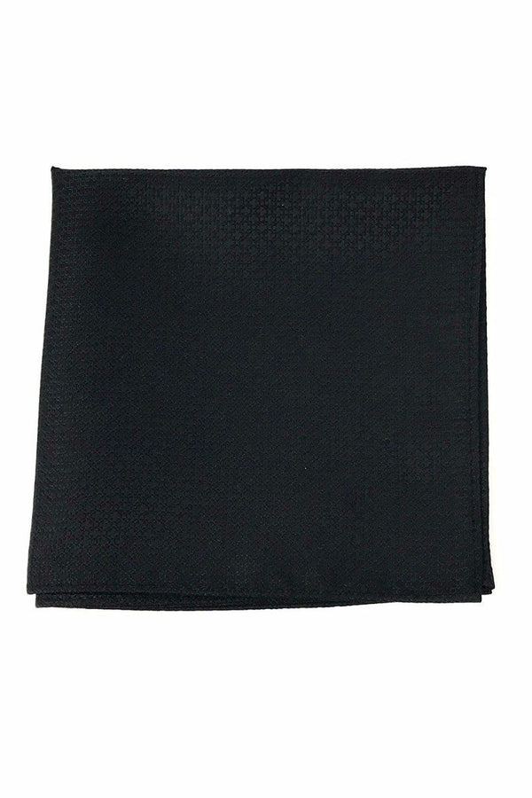 Black Regal Pocket Square