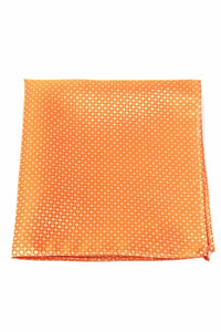 Orange Regal Pocket Square