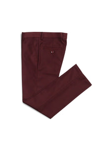 """Jax"" Kids Burgundy Suit 5-Piece Set"