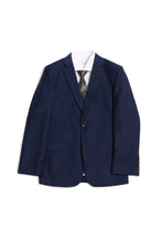 "Load image into Gallery viewer, ""Jax"" Kids Navy Suit 5-Piece Set"