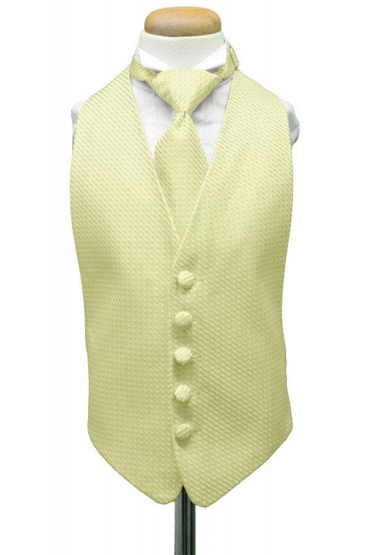 Honey Mint Venetian Kids Tuxedo Vest