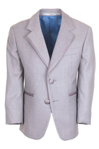"""Infinity"" Kids Heather Grey Tuxedo Jacket (Separates)"