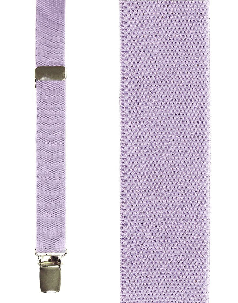 Kids Lilac Oxford Suspenders