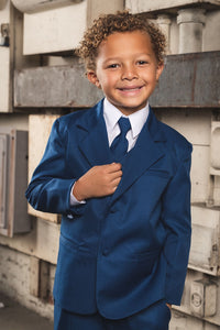 """Joey"" Kids Cobalt Suit 5-Piece Set"