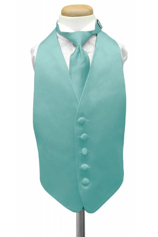 Pool Luxury Satin Kids Tuxedo Vest