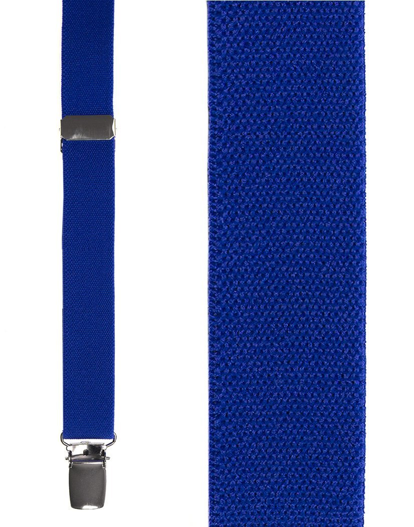 Kids Royal Blue Oxford Suspenders