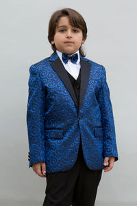 """Bellagio"" Kids Royal Tuxedo 5-Piece Set"