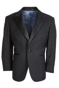 """Vienna"" Kids Black Tuxedo Jacket (Separates)"