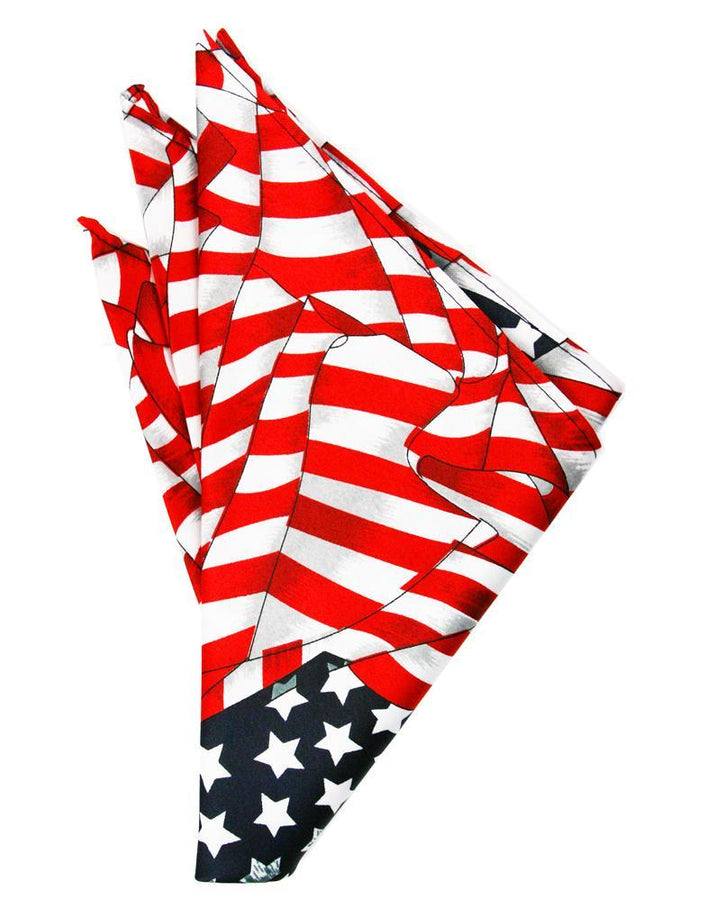 Waving Flags Pocket Square