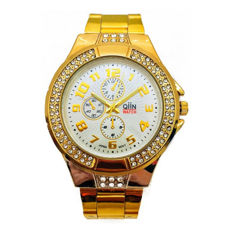 Ladies' Watch Qiin 0312WESUS (39 mm)