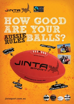 How Good Are Your Balls - Aussie Rules Poster