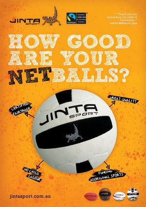 How Good Are Your Balls - Netball Poster