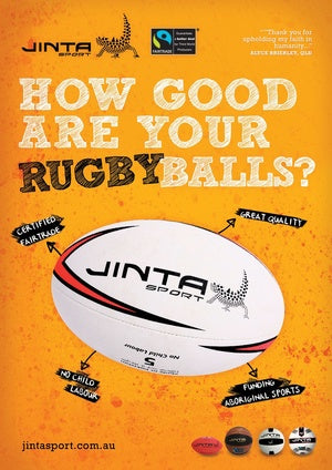 How Good Are Your Balls - Rugby Poster