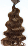 "22"" Beach Wave Hand Tied Wefts 5WB (Warm Brown)"