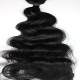 "22"" Beach Wave Hand Tied Wefts- 1N (Neutral Black)"