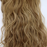 "22"" Beach Wave Hand Tied Wefts - 9/7WBL(Dark Warm Blonde Mix)"