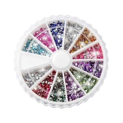 Nail Art Rhinestone Pack of 1200 Premium Quality 2mm Gemstones