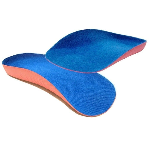 Arch Aids - Foot Arch Support UK Size 7-12, 3/4 Length Orthotic Insole PAIR for Weak and Fallen Arches!