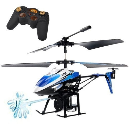 WLToys V319 Remote Control 3.5 Channel Water Shooting Helicopter