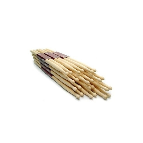 12 Drum Sticks (6 pairs) 5A Drumsticks Maple High Quality Wood