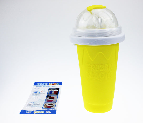 Squeeze Cup Slushy Maker - Yellow