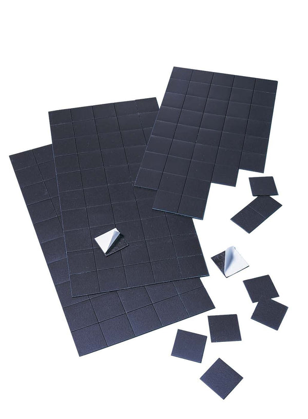 100 pieces - Adhesive Square Magnets - 20x20mm - DIY, Decoration