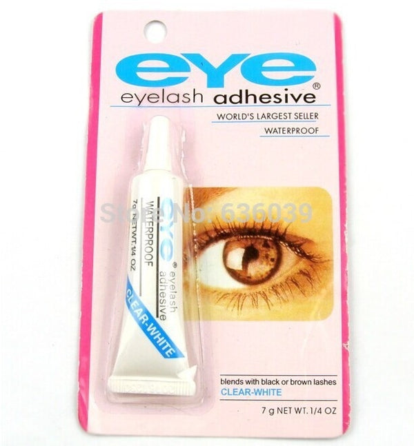 False Eyelash Glue, Lasting adhesive strength. Easy application !