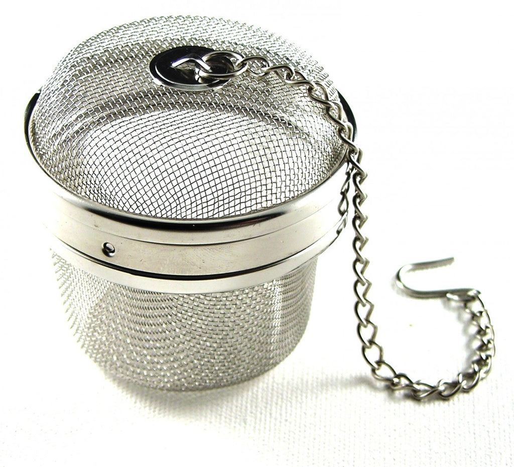 Tea ball infuser | Teapot shaped | 6.3cm | For tea leaves, spices, herbs