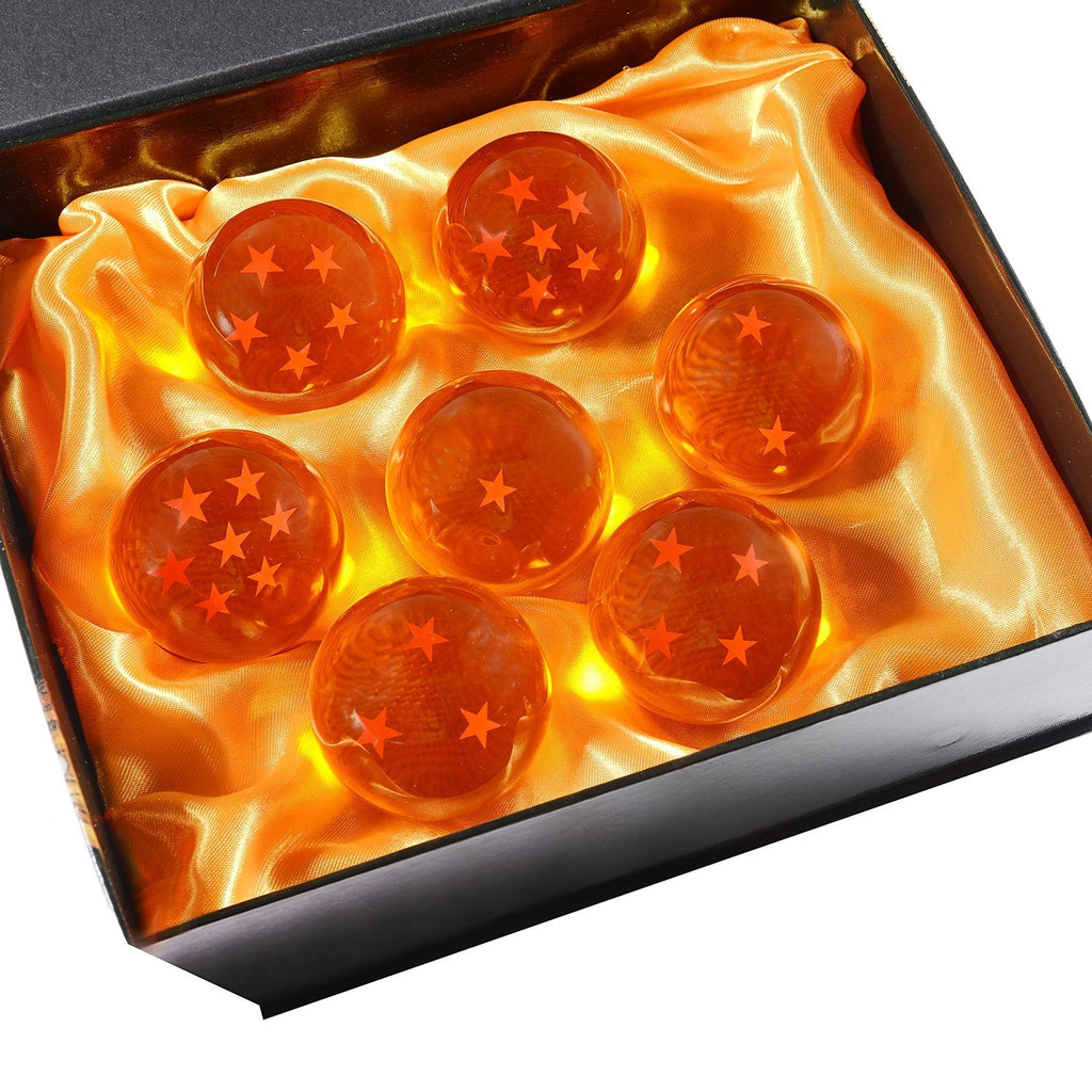 Dragon Ball Z 7 Crystals With Gift Box All Stars | 5.7cm | Anime