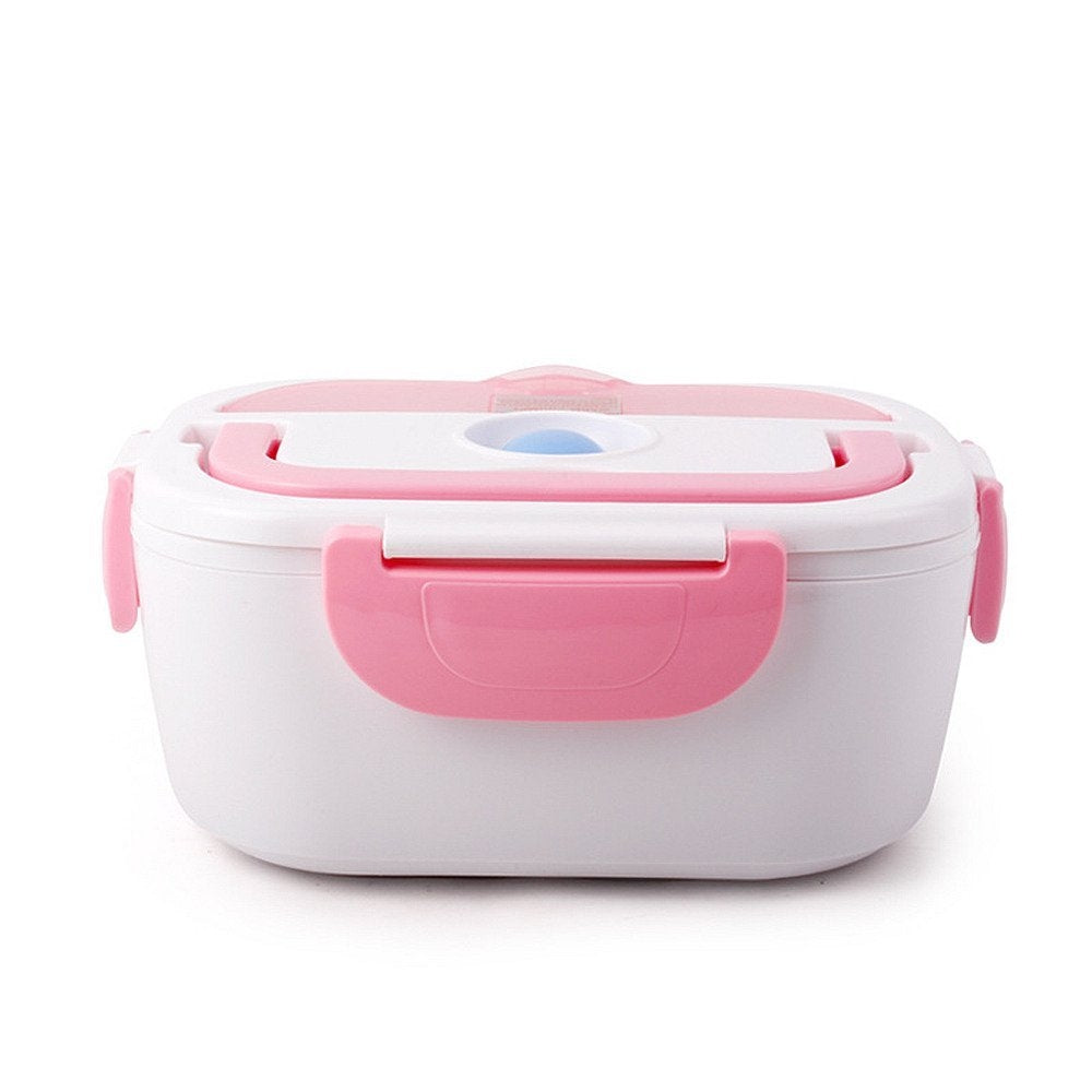 Thermic Lunch Box - Electric thermal lunchbox food warmer in stainless steel - Modern design with handle !