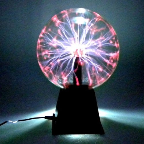 Plasma ball LAMP for party and home decoration - Diameter 20cm - Gift decoration, cool gadget, surprise effect