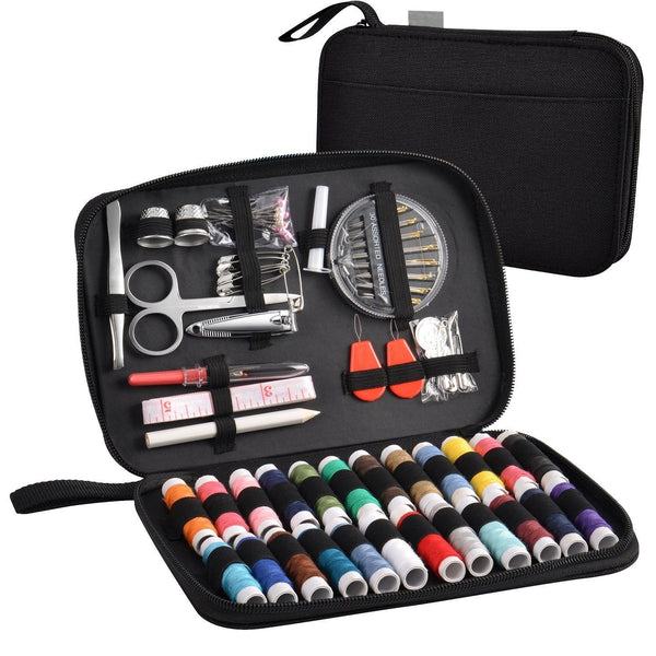 Sewing kit with 90 accessories and High Quality Oxford Case, Universal Kit | Home and travel. All you need for sewing !