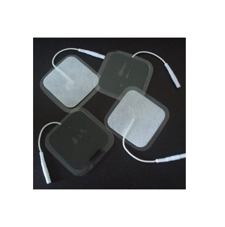 16 pieces electrode pads 40x40mm, reusable. For TENS EMS stimulation current device with 2mm plug connection. Reusable !