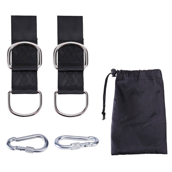 Safety straps for hammocks / swing chairs - 500kg capacity