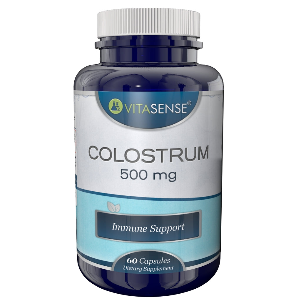 VitaSense Colostrum 500mg - Immune Support - 60 capsules