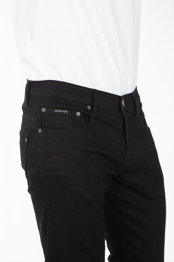 Jeans Stretch Coupe Slim Noir