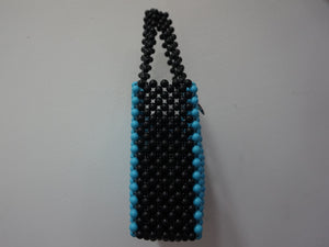 Blue & Black Sam Bag