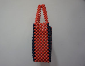 Blue & Orange Sam Bag