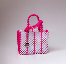 Load image into Gallery viewer, Sam Bag - White & Pink