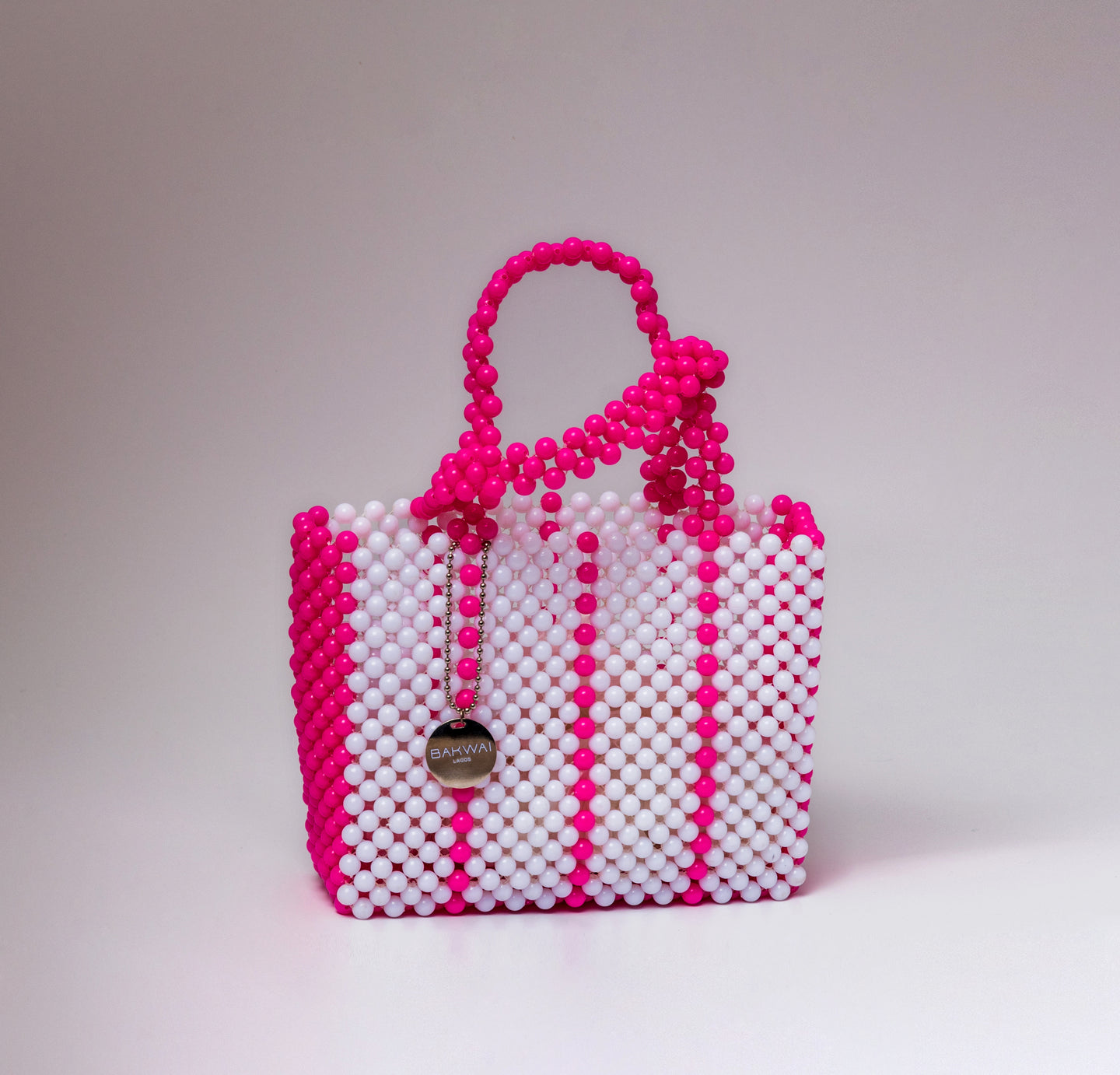 Sam Bag - White & Pink