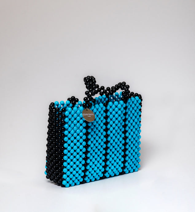 Sam Bag- Blue & Black