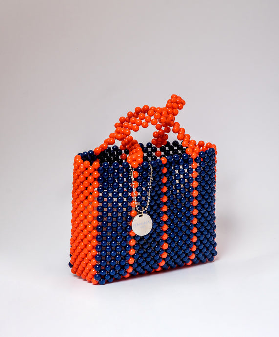 Sam Bag - Blue & Orange
