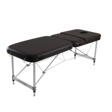Table de massage en aluminium 3 sections 28 pouces