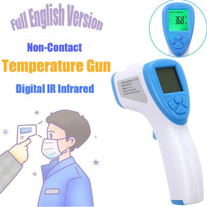 Baby Digital Infrared Kid Thermometer Gun Non-Contact Forehead Temperature Measurement Tool For Baby Adults Multi-use dropshipp