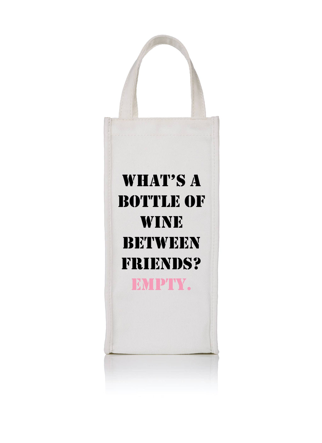 Wine Bags: Empty Bottle